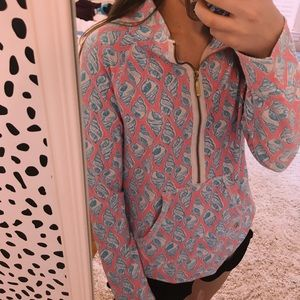 Lily Pulitzer rare zip up pullover